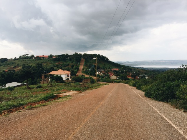 I love how green Uganda is. It reminds me of back home.