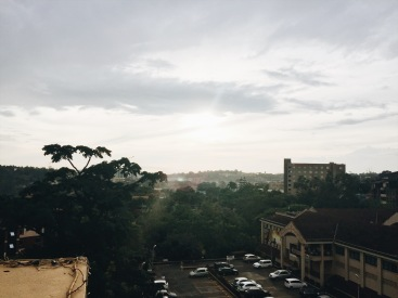 Kampala views during one of my many trips there.